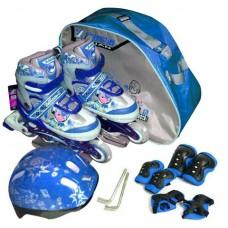 รองเท้าสเก็ต สำหรับคุณหนู ไซด์ 34-37M (สีน้ำเงิน)